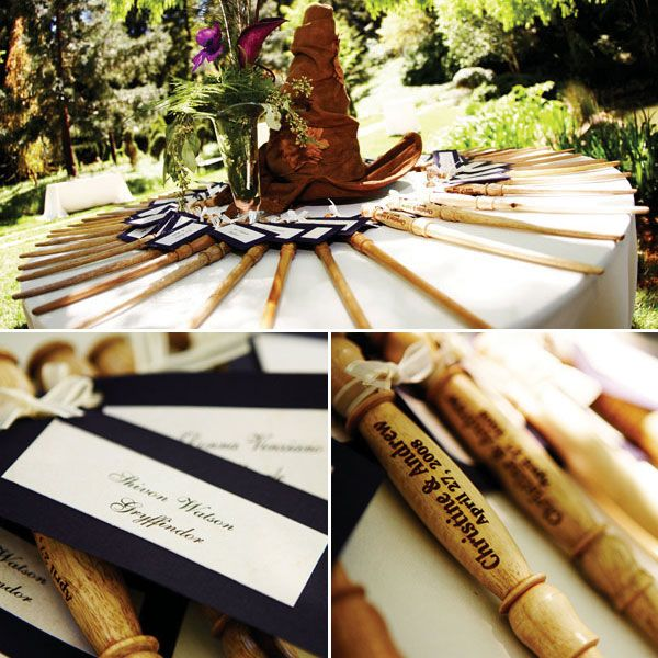 Harry Potter Wedding Theme